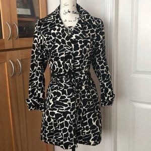 Jackets & Blazers - Black and white print jacket